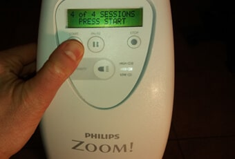 zoom whitening instructions after